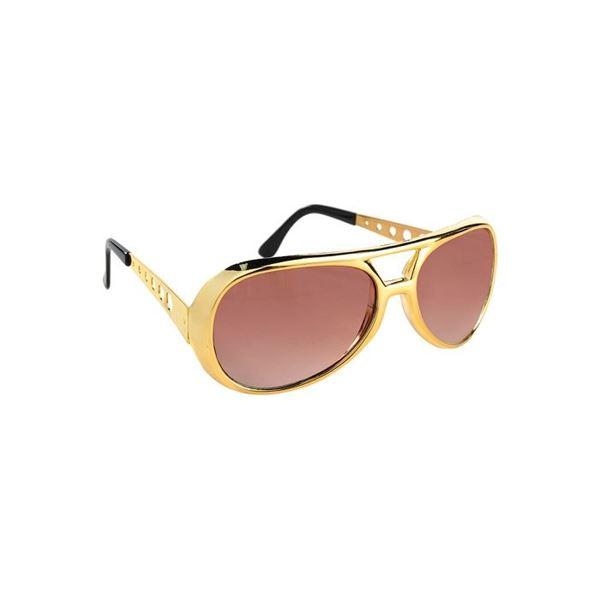 Imagen de Gafas rock doradas