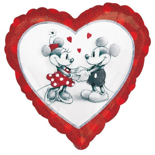 Picture of Globo Mickey & Minnie Mouse Love