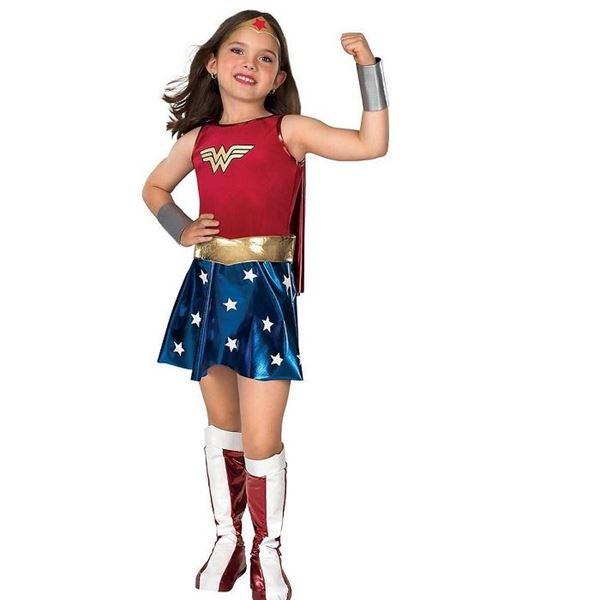 Imagens de Disfraz Wonder Woman infantil (Talla 5-7 años)