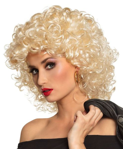Picture of Peluca rizos Rubia Grease