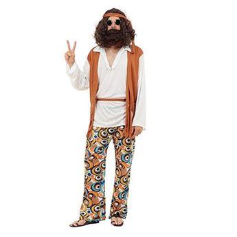 Imagen de Disfraz Hippie Hombre (Talla 44)