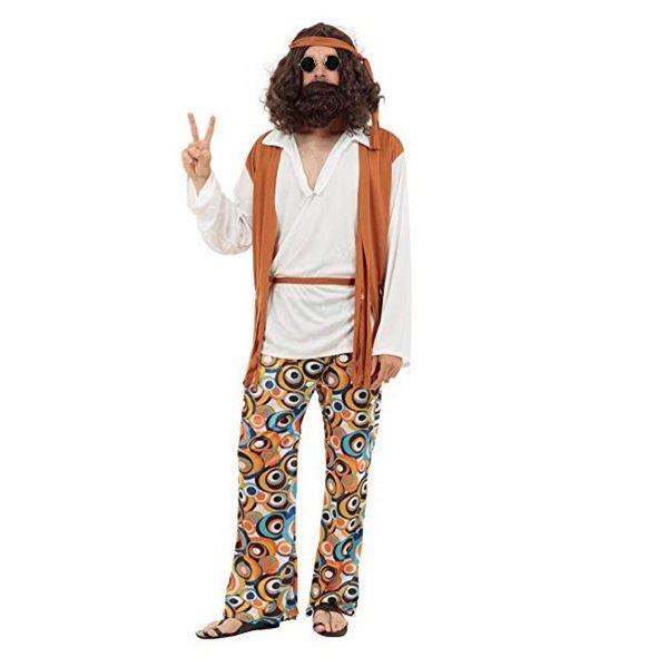 Imagens de Disfraz Hippie Hombre (Talla 44)