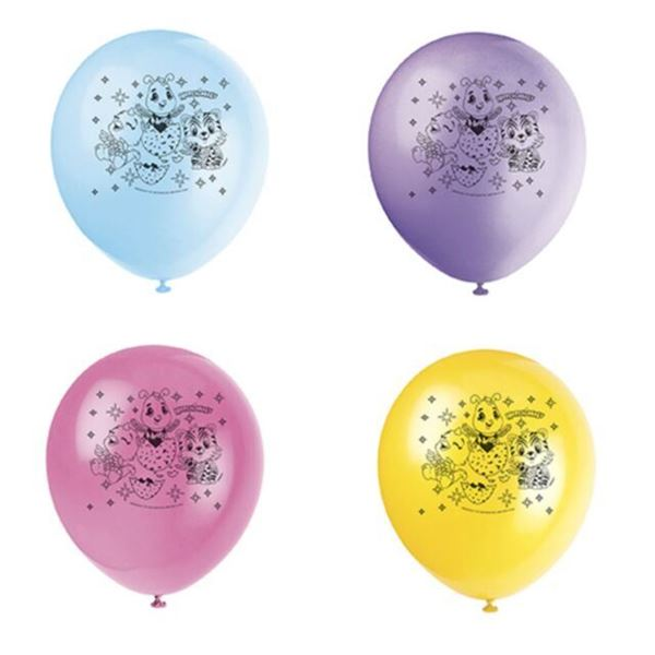 Picture of Globos de látex Hatchimals (8)