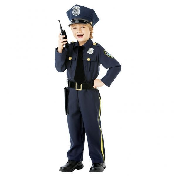 Imagens de Disfraz policía niño 6 a 8 años