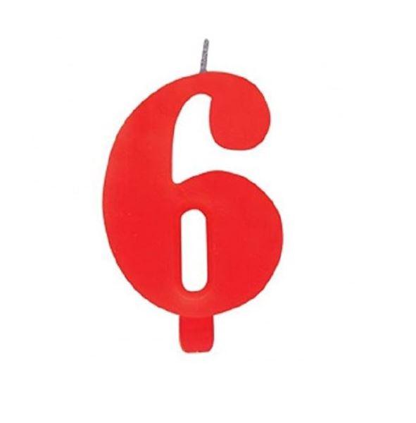 Imagens de Vela 6 roja chispeante
