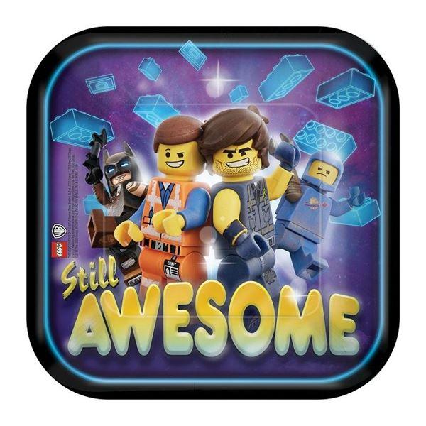 Imagens de Platos LEGO Movie 2 pequeños (8)