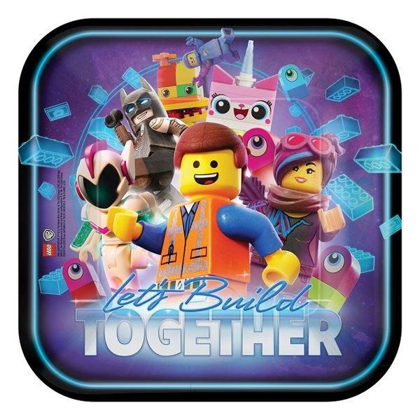 Picture of Platos Lego Movie 2 Grandes (8)