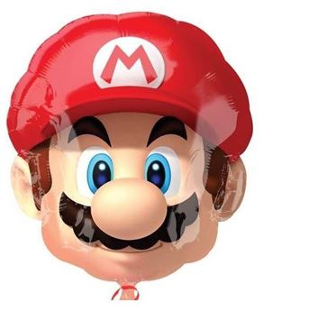 Picture of Globo Super Mario Bros Cabeza