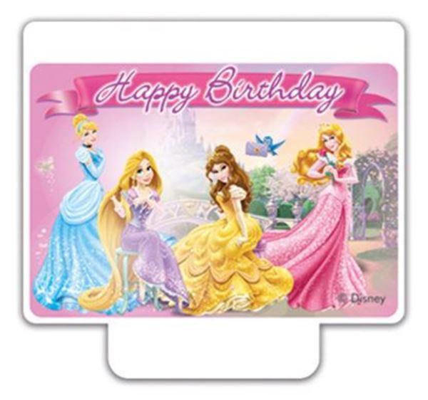 Imagen de Vela tarta Princesas Disney