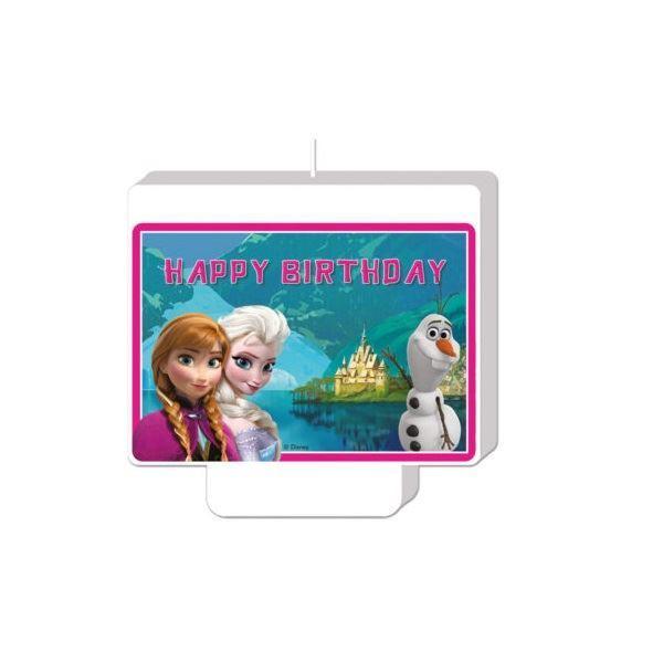 Imagen de Vela Frozen Happy Birthday