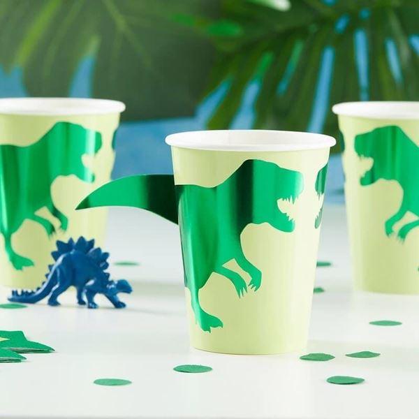 Imagen de Vasos Dinosaurios rugidos (8)