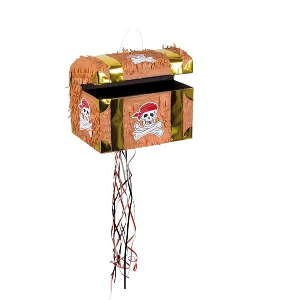 Imagens de Piñata Cofre Pirata Golpear