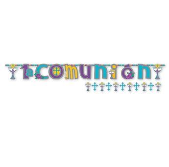 Imagen de Banner letras Mi primera comunión