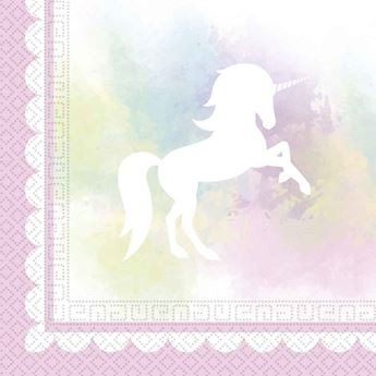 Picture of Servilletas Unicornio pastel (20)