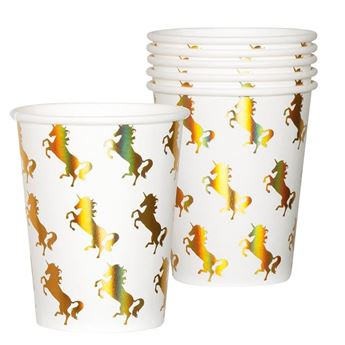 Picture of Vasos Unicornio Irisado (6)