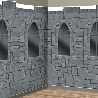 Imagens de Fondo pared escena castillo Medieval