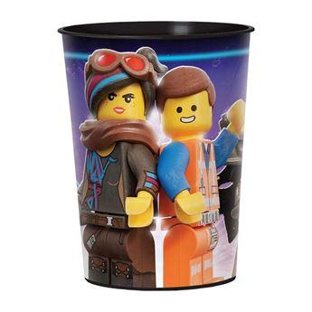 Imagen de Vaso LEGO Movie 2 plástico duro