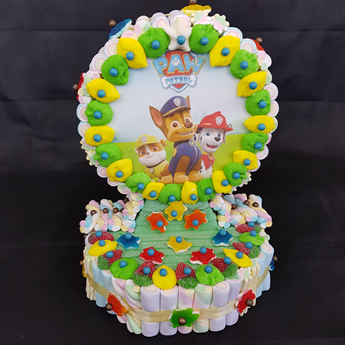 Picture of Tarta de chuches Patrulla Canina
