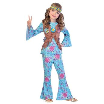 Picture of Disfraz infantil hippie Flower (10-12 años)