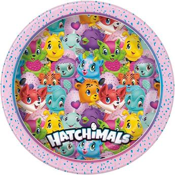 Picture of Platos Hatchimals grandes (8)