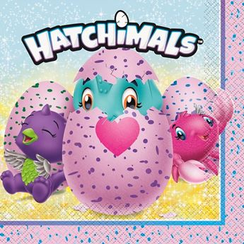 Picture of Servilletas Hatchimals (16)