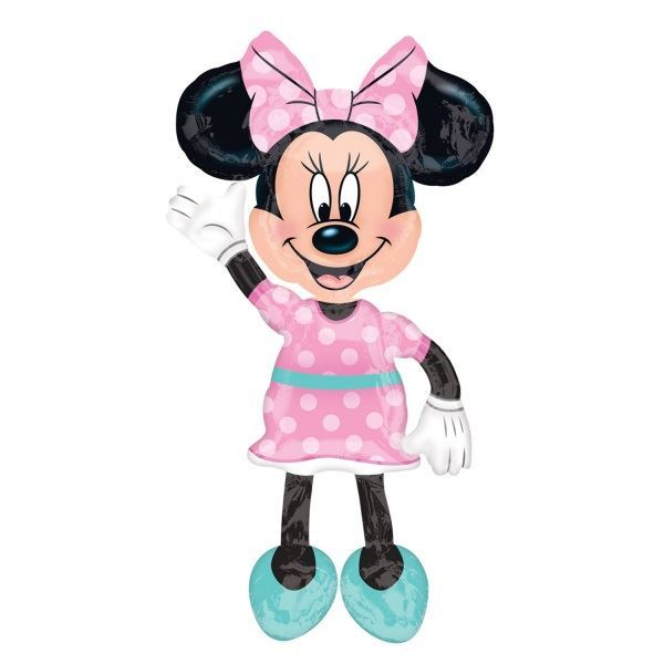 Picture of Globo andante Minnie Mouse Rosa