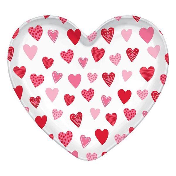 Imagens de Bandeja forma corazón grande