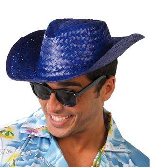 Imagen de Sombrero de Paja Verano Azul