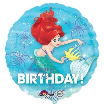 Picture of Globo de Ariel Happy Birthday