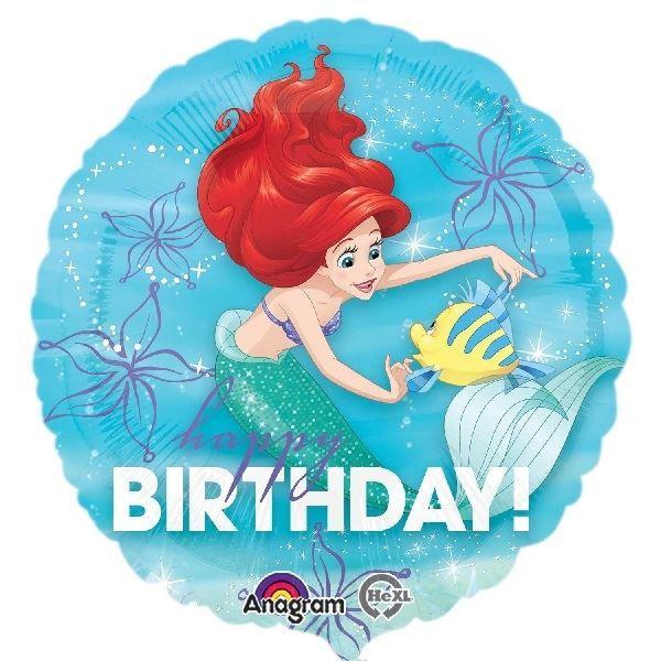 Imagen de Globo de Ariel Happy Birthday