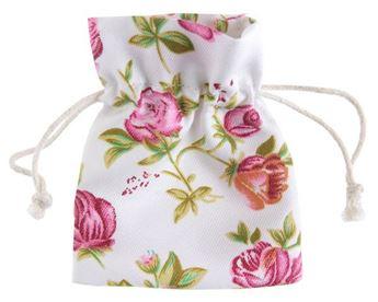 Imagens de Bolsas tela blancas con flores (4)