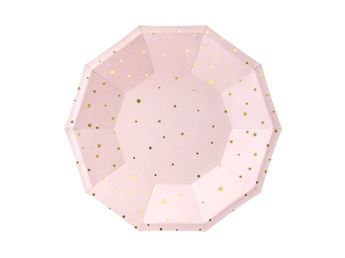 Picture of Platos estrellitas rosa claro (6)