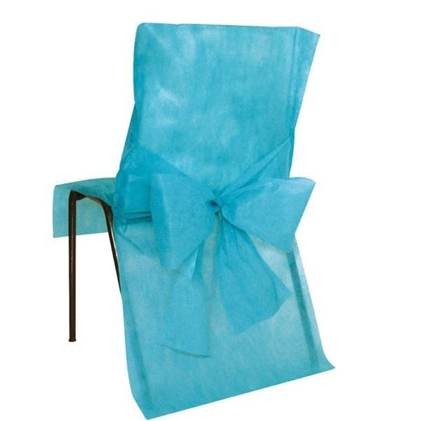 Imagens de Fundas silla Turquesa maxi pack (10)