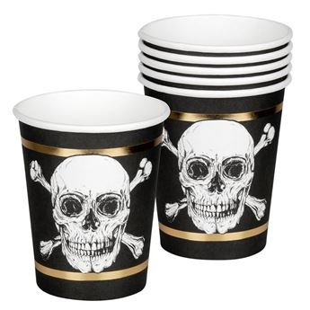 Picture of Vasos Pirata legendario (6)