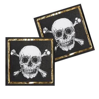 Picture of Servilletas Pirata legendario (12)