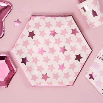 Imagens de Platos estrellas Rosa Grandes (8)