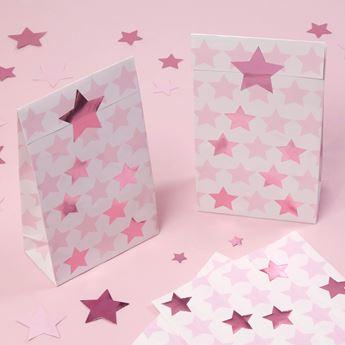 Imagens de Bolsas de cartón Estrella Rosa (5)