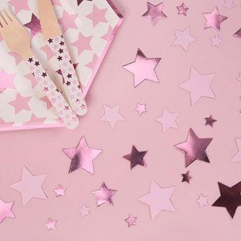 Picture of Confeti papel Estrella Rosa