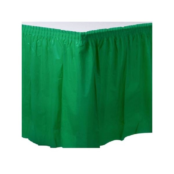 Picture of Falda de mesa verde