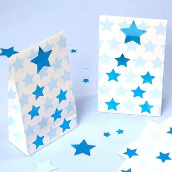 Picture of Bolsas de cartón Estrella azul (5)