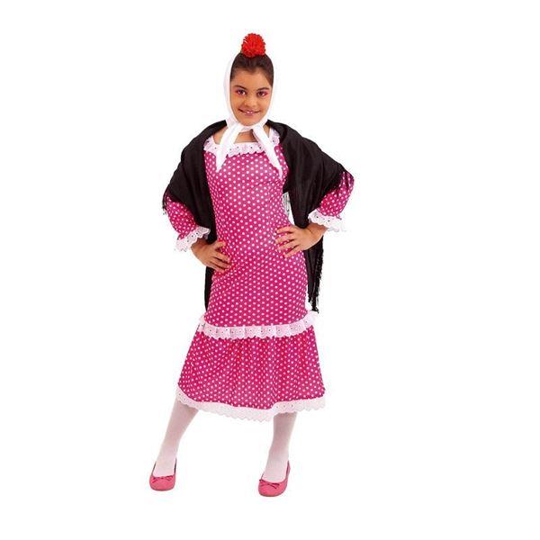 Imagens de Disfraz Chulapa infantil (Talla 8-10)
