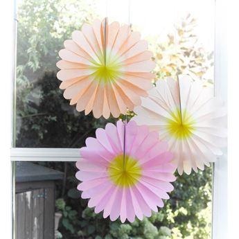 Imagens de Decorados abanico flores del Jardín (3)
