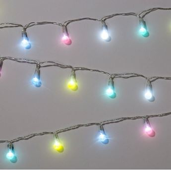 Imagens de Guirnalda luces pequeñas colores pastel