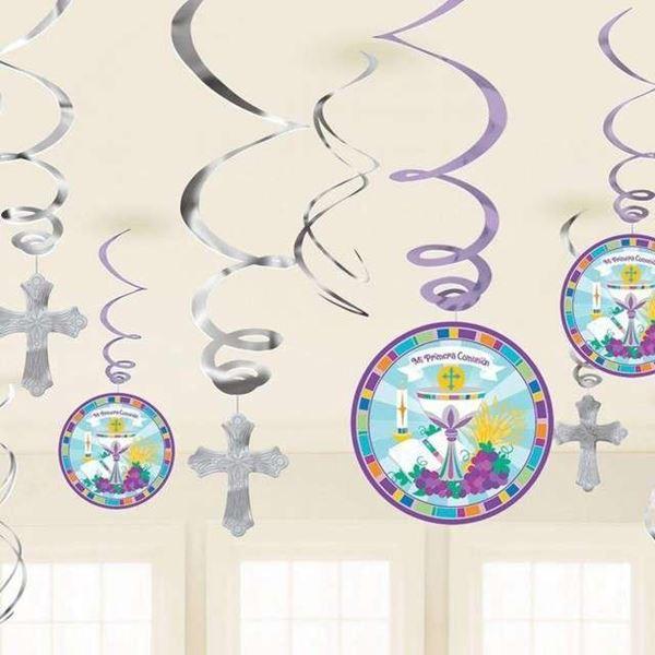 Imagen de Decorados Espirales Comunión (12)