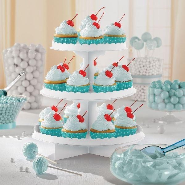 Imagen de Stand para cupcakes color Blanco