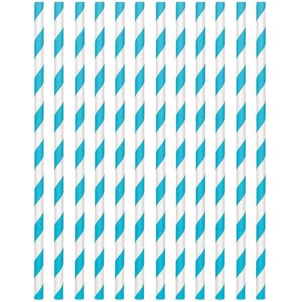 Imagens de Pajitas con rayas azul caribe (24)