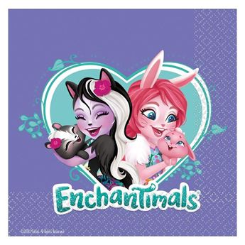 Imagen de Servilletas Enchantimals (16)