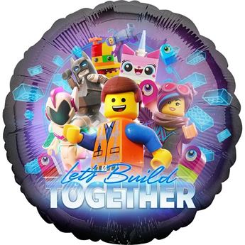 Picture of Globo redondo Lego Movie 2