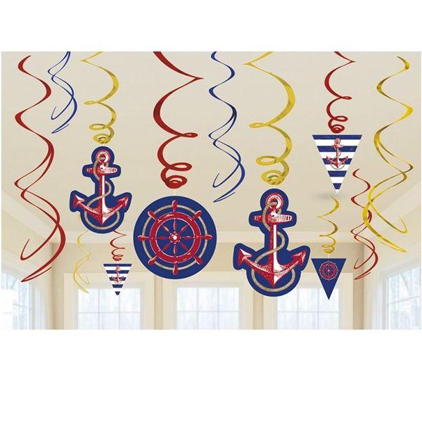 Imagen de Decorados espirales marinero levando anclas (12)