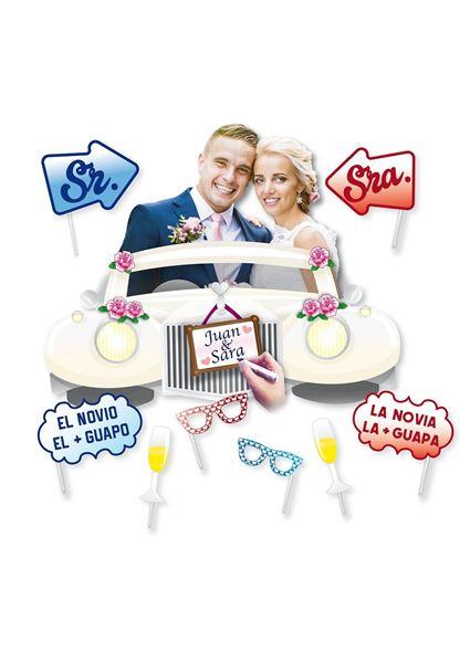 Picture of Marco photocall boda con accesorios